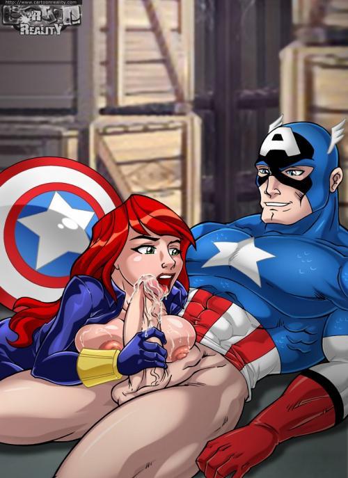 avengers porn parody