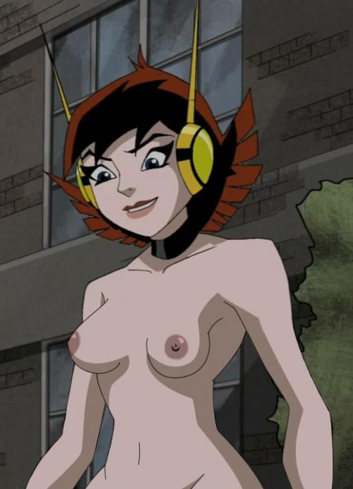 Nice Shot Of Female Superhero Wasp Topless