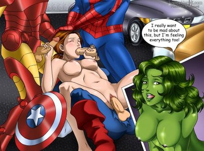 Avengers Earth S Mightiest Heroes In Shape Of Porn Anime The