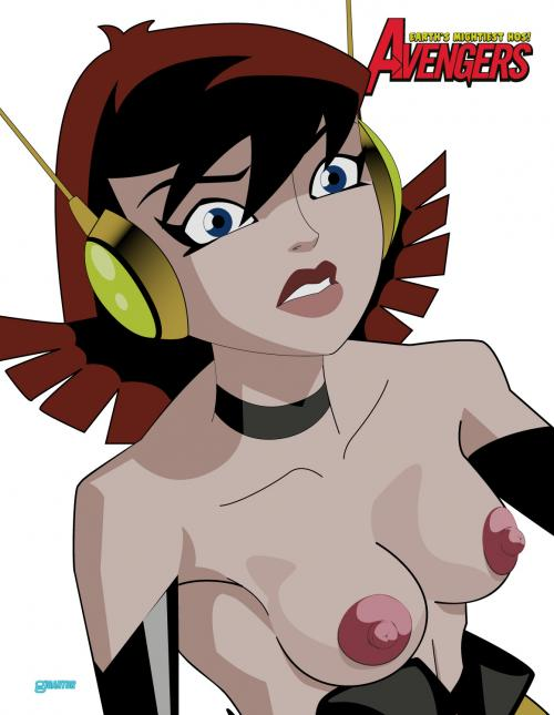 Sey Superhero Wasp From Avengers Looks Better When Her Tits Are