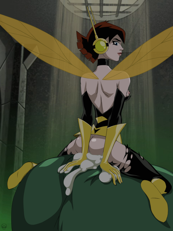 Wasp – the Sexy ass Avenger – has been blowing Hulk's incredibly ...