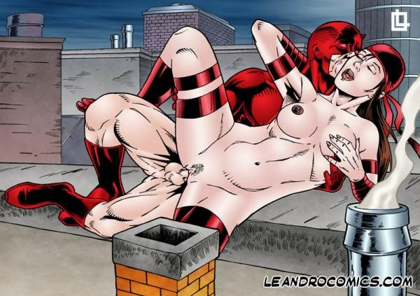Elektra Cartoon Sex